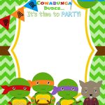 Download Now Free Printable Ninja Turtle Birthday Party Invitations   Free Printable Turtle Baby Shower Invitations