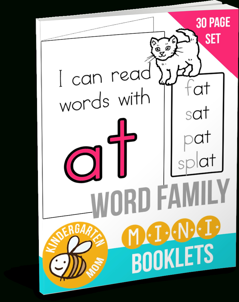 Download The Free Package! - Free Printable Word Family Mini Books
