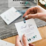 Download These Free Printable Wedding Thank You Tags | Lovilee Blog   Free Printable Wedding Favor Tags