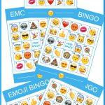Download This Free Fantastic Printable Emoji Bingo Game! | Catch My   Free Emoji Bingo Printable
