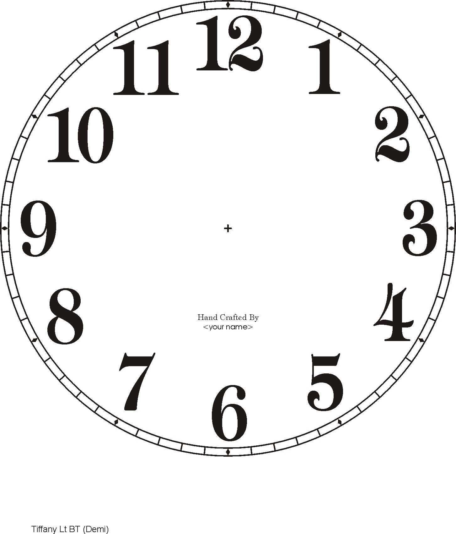 Downloadable Clock Faces | Printables | Clock Face Printable, Clock - Free Printable Clock Faces