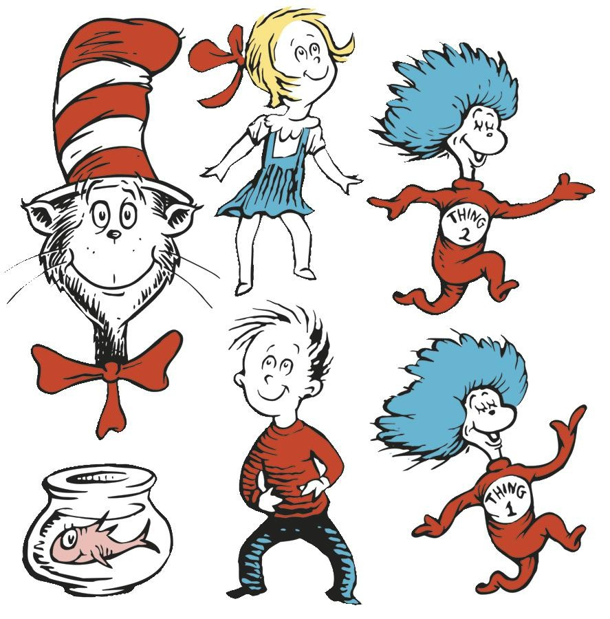 Dr Seuss Characters Images | Free Download Best Dr Seuss Characters - Free Printable Pictures Of Dr Seuss Characters