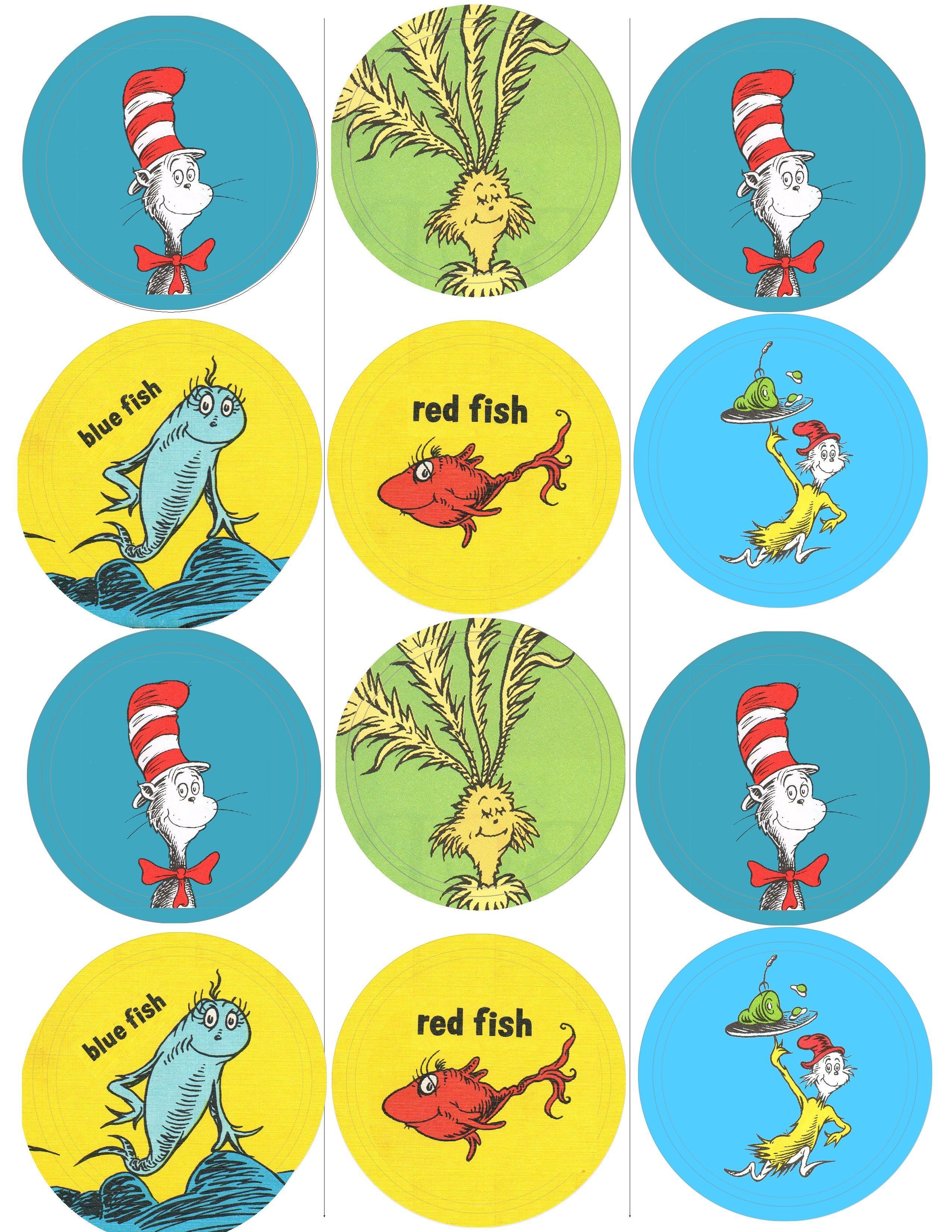 Dr Seuss Clip Art | Dr. Moon's Fun Free  | Things I Like.. | Dr - Free Printable Dr Seuss Clip Art