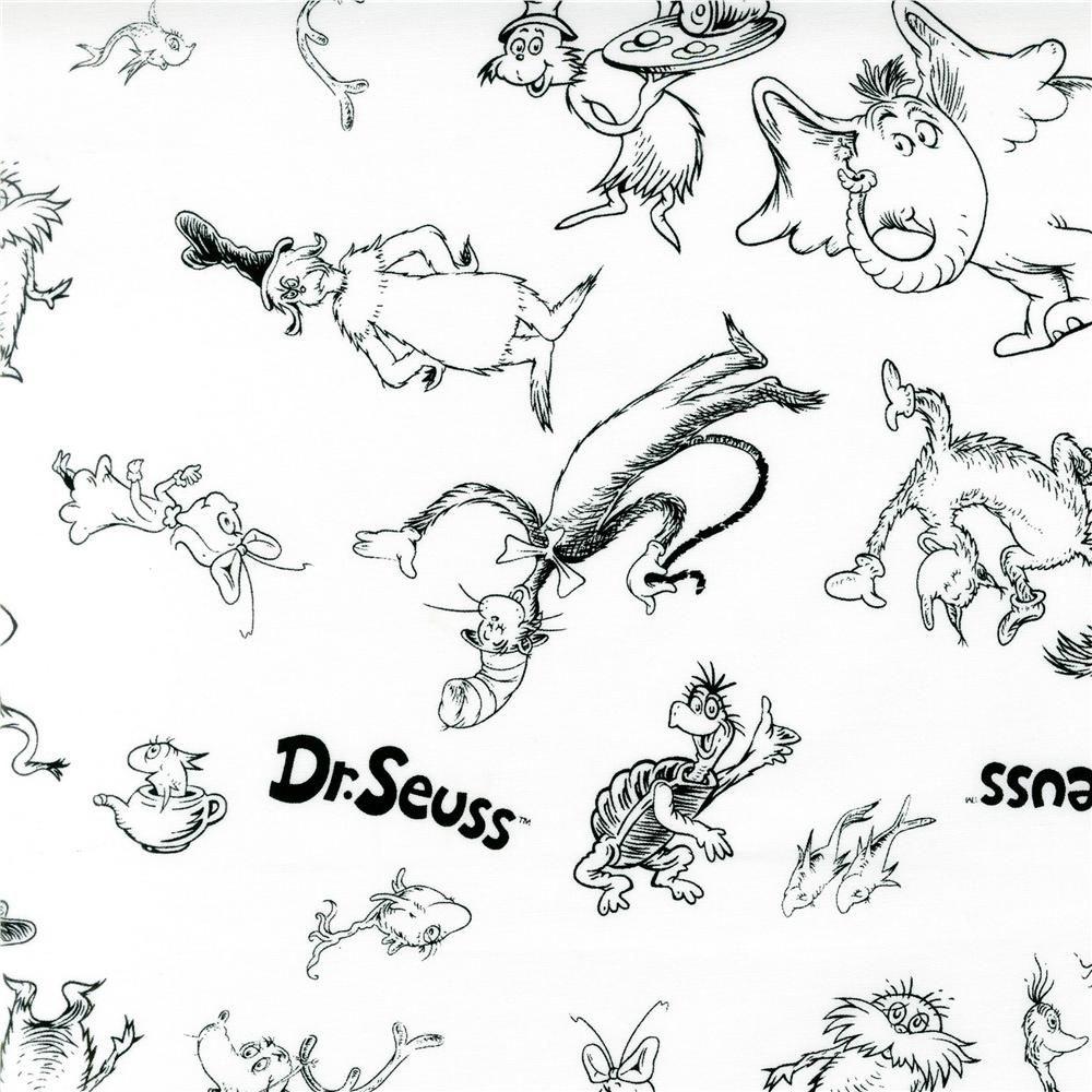 Dr. Seuss Printables   Images Of Dr Seuss Coloring Pages Printable - Free Printable Dr Seuss Characters