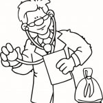 ▷ Doctor: Coloring Pages & Books   100% Free And Printable!   Doctor Coloring Pages Free Printable