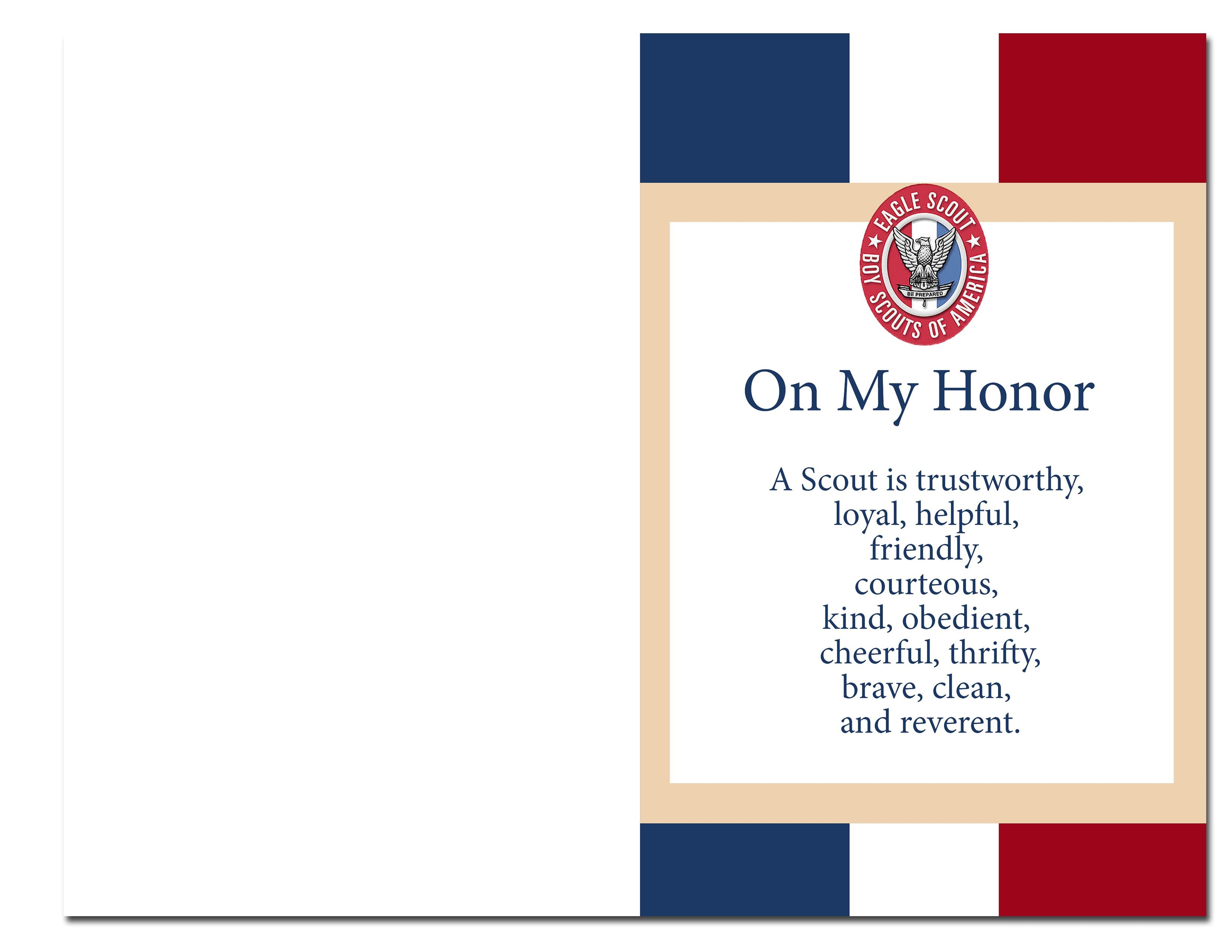 Eagle Scout Court Of Honor Ideas And Free Printables | Information - Eagle Scout Cards Free Printable