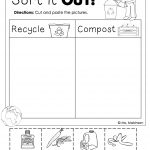 Earth Day Free | Homeschool. | Earth Day, Earth Day Activities   Free Printable Recycling Worksheets
