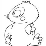 Easter Chick Coloring Pages   18 Online Kids Coloring Printables For   Free Printable Easter Baby Chick Coloring Pages