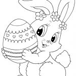 Easter Coloring Page   Spring Coloring Pages   Easter Bunny   Free Easter Color Pages Printable
