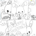 Easter Coloring Pages For Kids (Free Printable) | Fun For Little   Free Printable Easter Coloring Pages For Toddlers