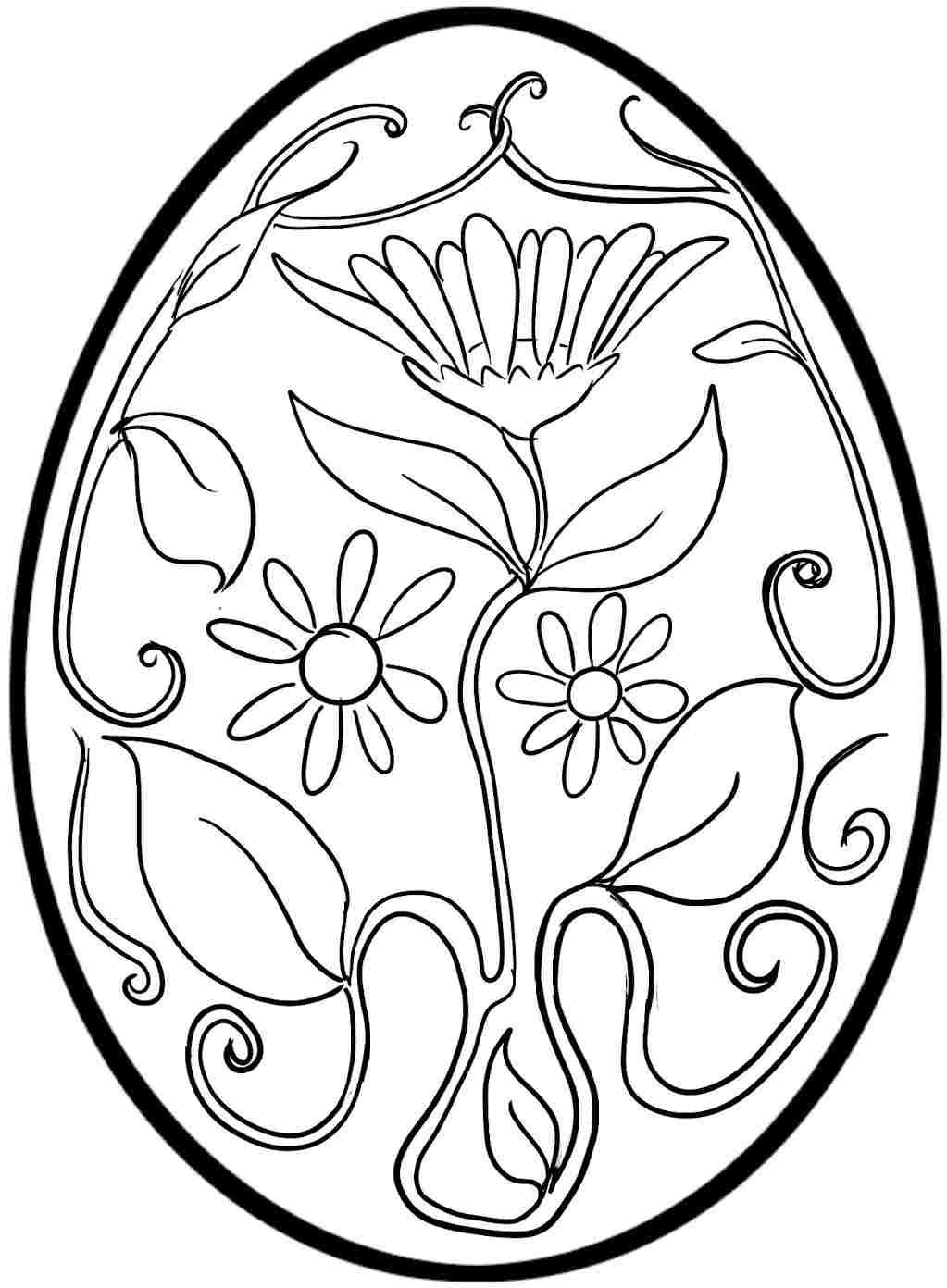 Easter Egg Colouring Pages Free For Kids & Boys #   Easter   Easter - Easter Color Pages Free Printable
