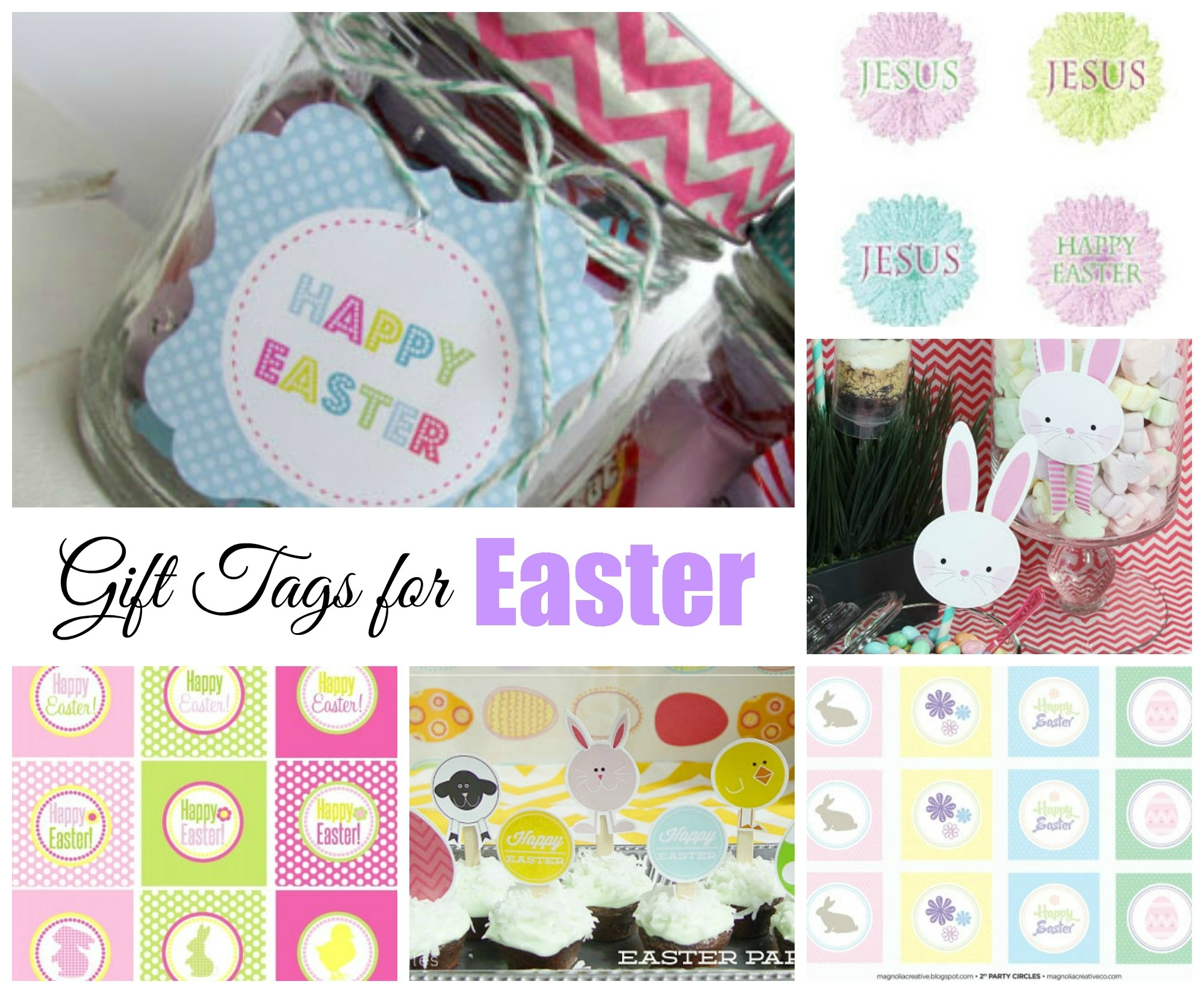Easter Free Printable Gift Tags   Celebrating Holidays - Party Favor Tags Free Printable