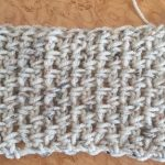 Easy Crochet Scarf Free Pattern Using Moss Stitch   Free Printable Crochet Scarf Patterns