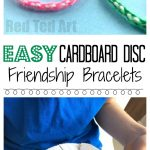 Easy Friendship Bracelets With Cardboard Loom   Red Ted Art   Free Printable Friendship Bracelet Patterns