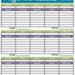 Easy Printable Budget Worksheet | Get Paid Weekly And Charlie Gets   Free Printable Budget Templates
