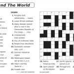 Easy Printable Crossword Puzzles | Elder Care & Dementia Care   Free Printable Crosswords Easy