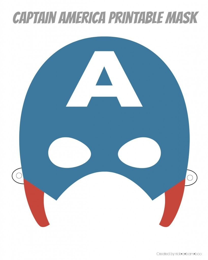 Easy Superhero Mask Template (Free!!) | Party [Herois - Free Printable Superhero Masks