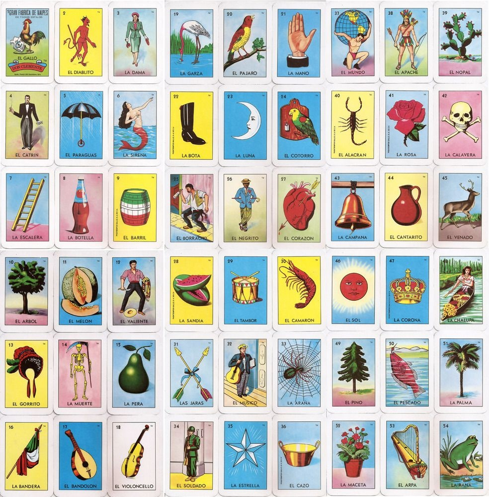El Corazon Loteria Card | Home Makeover | Loteria Cards, Cards, Bingo - Loteria Printable Cards Free