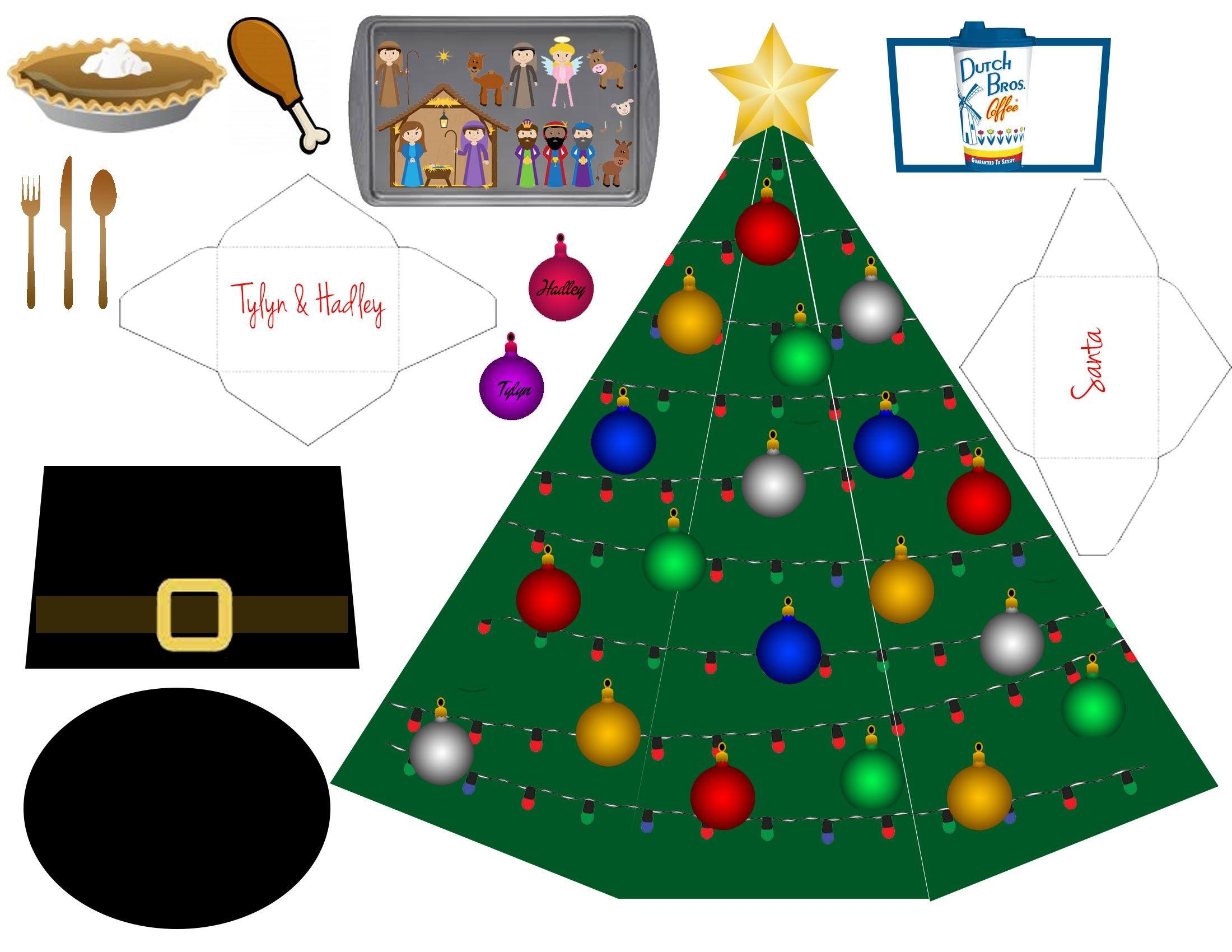Elf On The Shelf Free Printable Props | Christmas | Elf On Shelf - Elf On The Shelf Printable Props Free