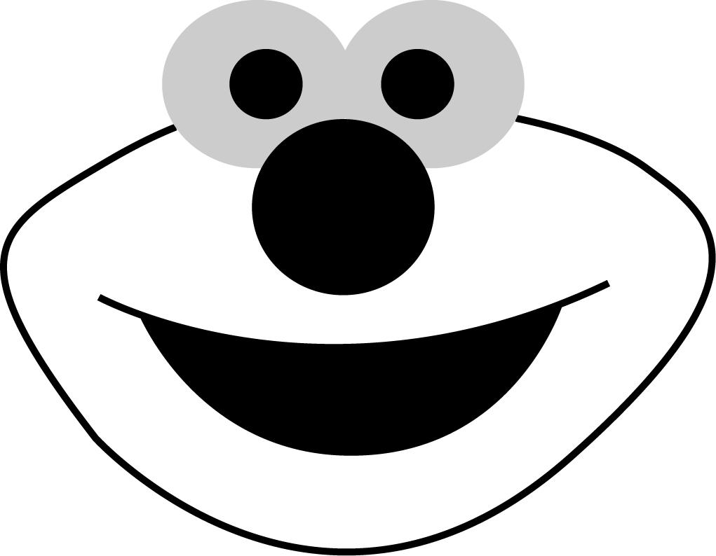 Elmo Pumpkin Template. Cute Elmo Face Coloring Page H Amp M Coloring - Free Elmo Pumpkin Pattern Printable
