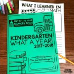 End Of The Year Memory Book {Free Printables!}   A Kinderteacher Life   Free Printable Books For Kindergarten