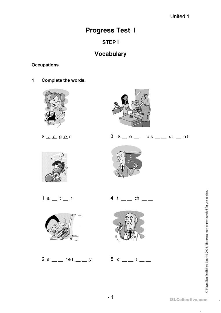 English Esl Placement Test Worksheets - Most Downloaded (29 Results) - Free Esl Assessment Test Printable