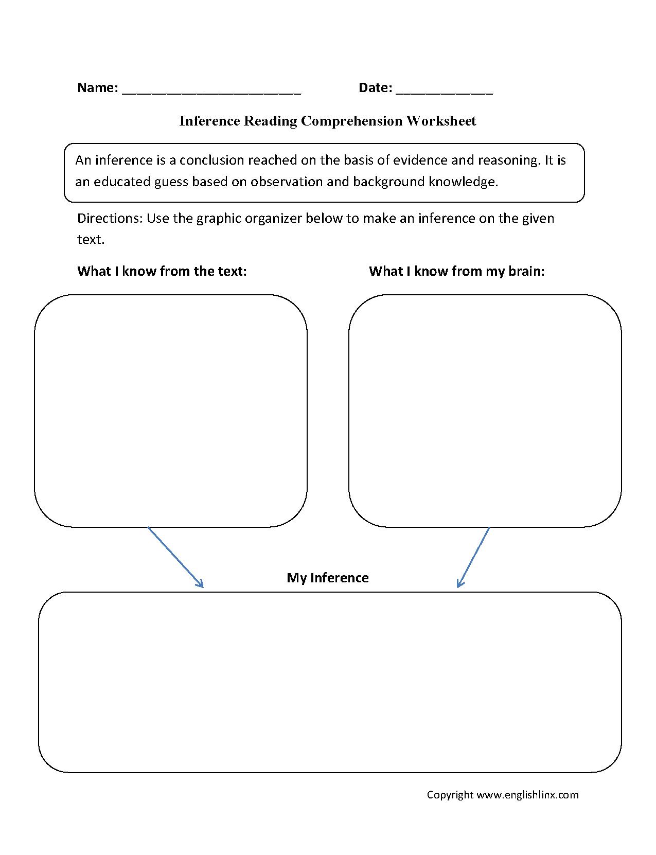 Englishlinx | Reading Comprehension Worksheets - Free Printable Worksheets Reading Comprehension 5Th Grade