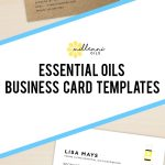 Essential Oil Business Cards, Young Living Essential Oils, Business   Free Printable Doterra Sample Cards