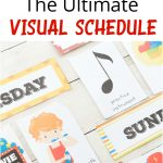 Extra Daily Visual Schedule Cards Free Printables   Natural Beach Living   Free Printable Schedule Cards