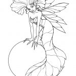 Fairy Coloring Pages   Free Printable Fairy Coloring Pages For Kids   Free Printable Fairy Coloring Pictures