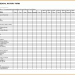 Family Medical History Forms Templates | Healthy And Strong   Free Printable Personal Medical History Forms