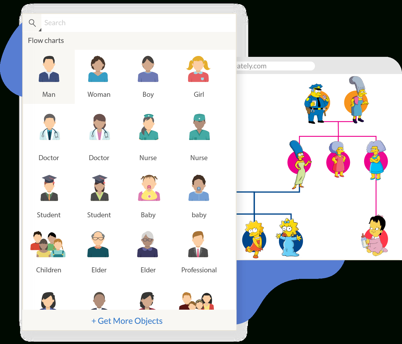 Family Tree Maker | Creately Family Tree Online | Creately - Family Tree Maker Online Free Printable