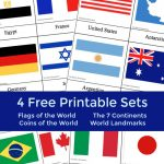 Fantastic Country Flags Of The World With 4 Free Printables | The   Free Printable Flags From Around The World