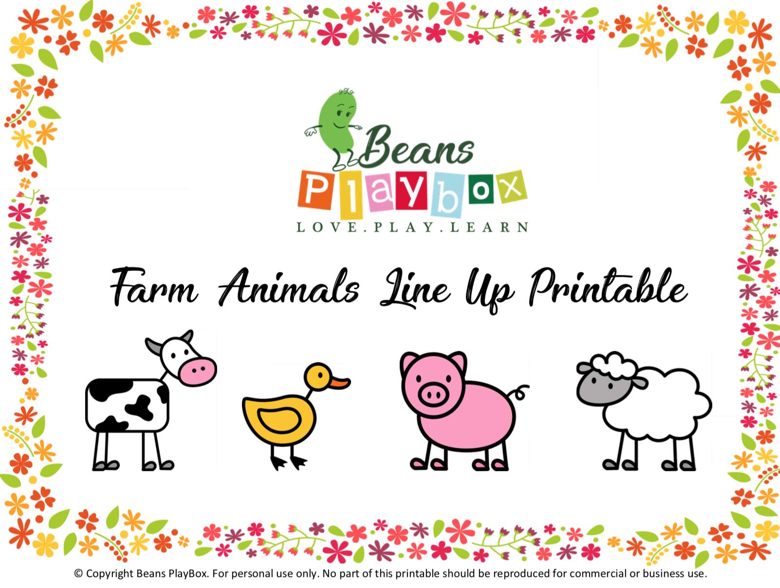 Farm Animal Printable, Free Printable, - Free Printable Farm Animals