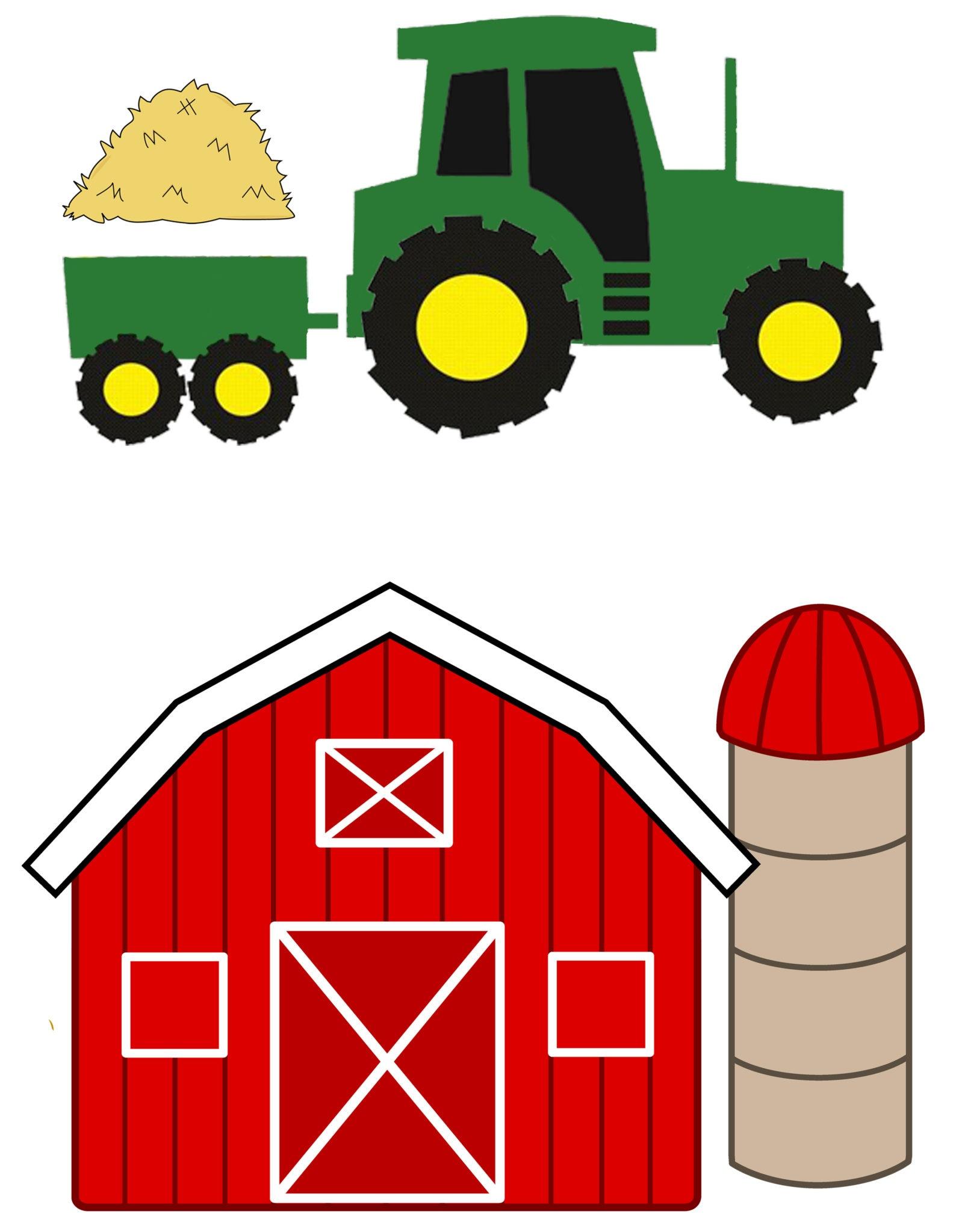Farm Animal Templates To Cut Out - Kaza.psstech.co - Free Printable Farm Animal Cutouts