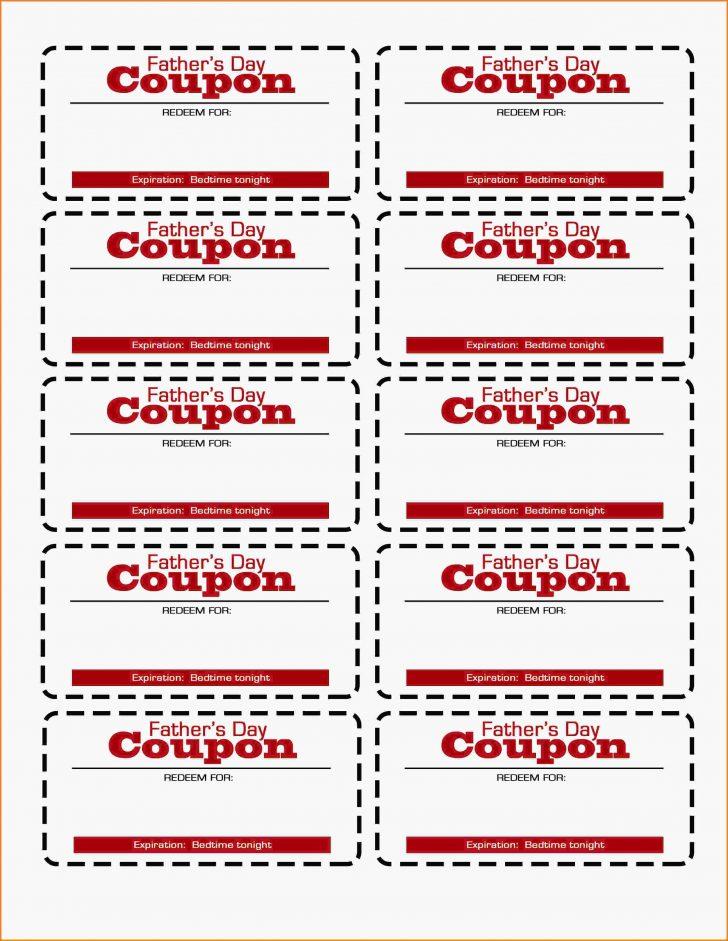 Free Printable Coupon Templates