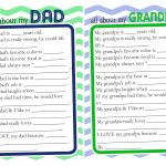 Father's Day Questionnaire & Free Printable   The Crafting Chicks   Free Printable Happy Fathers Day Grandpa Cards