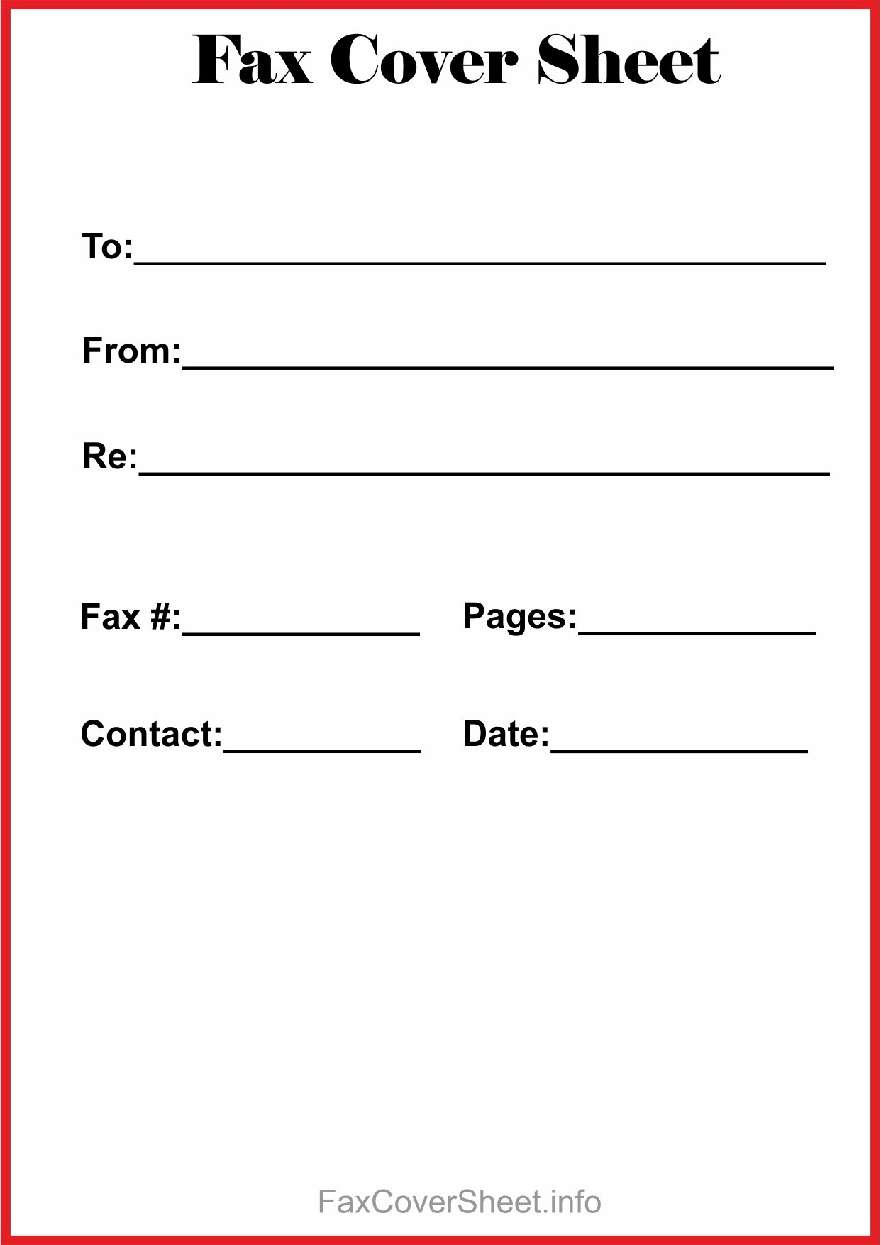 Fax Cover Sheet Fillable New Free Fax Cover Sheet Template - Free Printable Fax Cover Sheet