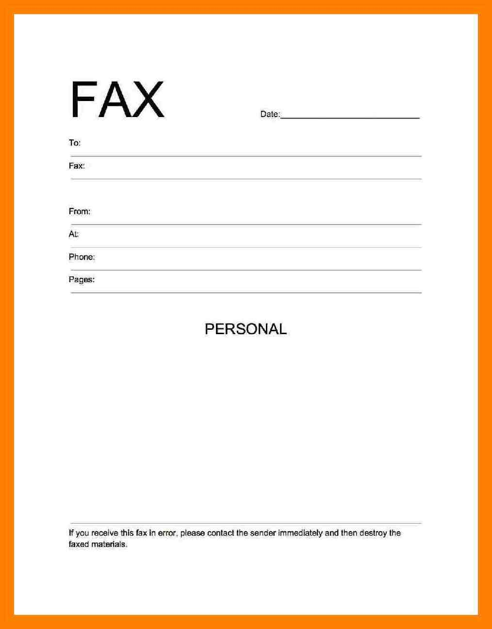 Fax Cover Sheet Pdf Free Download - Free Printable Fax Cover Sheet Pdf