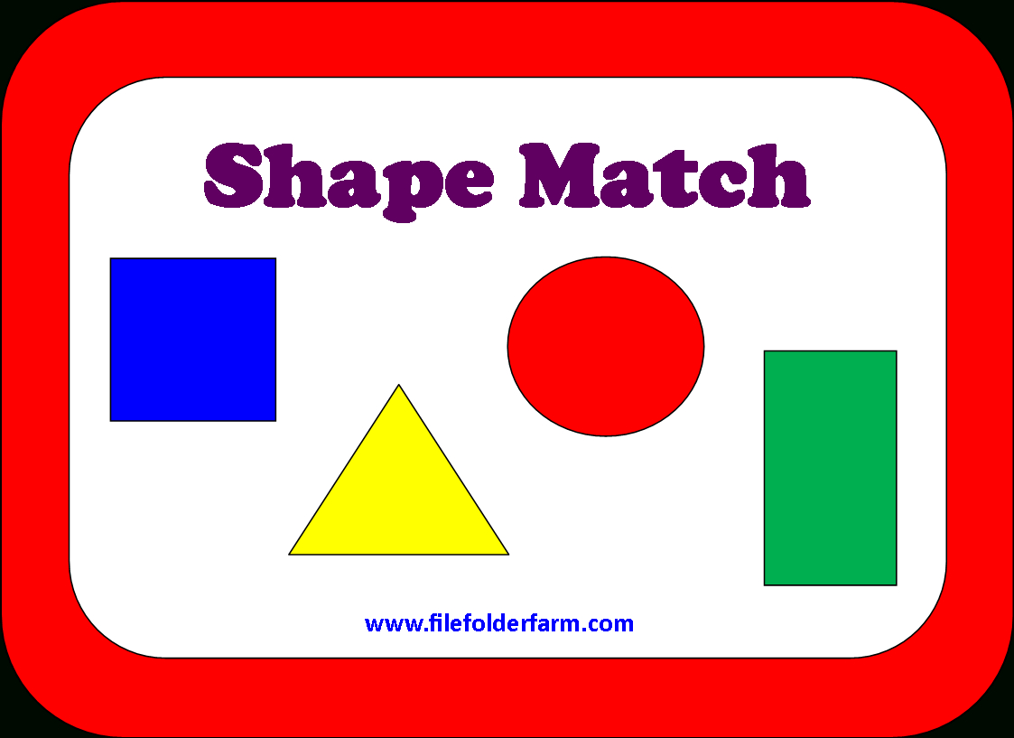 File Folder Farm - Huge Collection Of Free Printable Pdf's To Make - Free Printable Math File Folder Games For Preschoolers