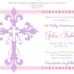 First Communion Invitation Template   Tutlin.psstech.co   Free Printable 1St Communion Invitations