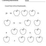First Grade Counting Backwards Worksheet Printable | Math | 1St   Free Printable First Grade Math Worksheets