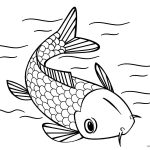 Fish Coloring Pages Free Printable Fish Coloring Pages For Kids   Free Printable Fish Coloring Pages