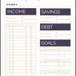 Fix Your Finances Asap With My (Free) Simple Monthly Budget Template   Free Printable Monthly Bills Worksheet
