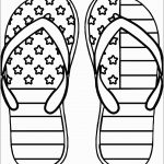 Flip Flop Coloring Pages Flip Flop Coloring Pages Free Printable 8   Free Printable 4Th Of July Coloring Pages