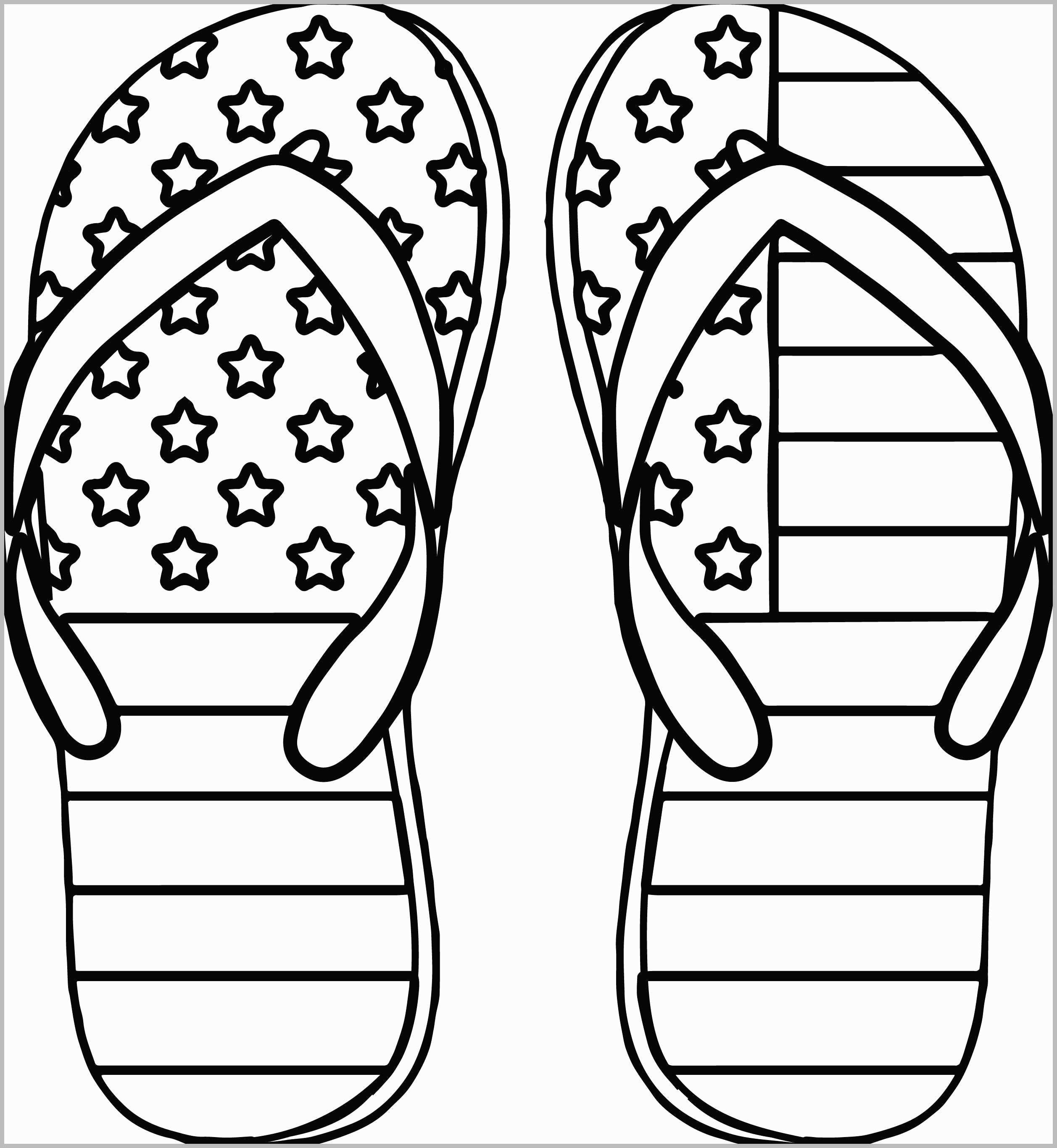 Flip Flop Coloring Pages Flip Flop Coloring Pages Free Printable 8 - Free Printable 4Th Of July Coloring Pages