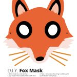 Fox Mask Template - Thoitranghiep – Clipart - Free Printable Fox Mask Template