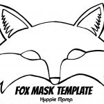 Fox Mask Template | Wood Work | Fox Mask, Fantastic Mr Fox, Mr Fox   Free Printable Fox Mask Template