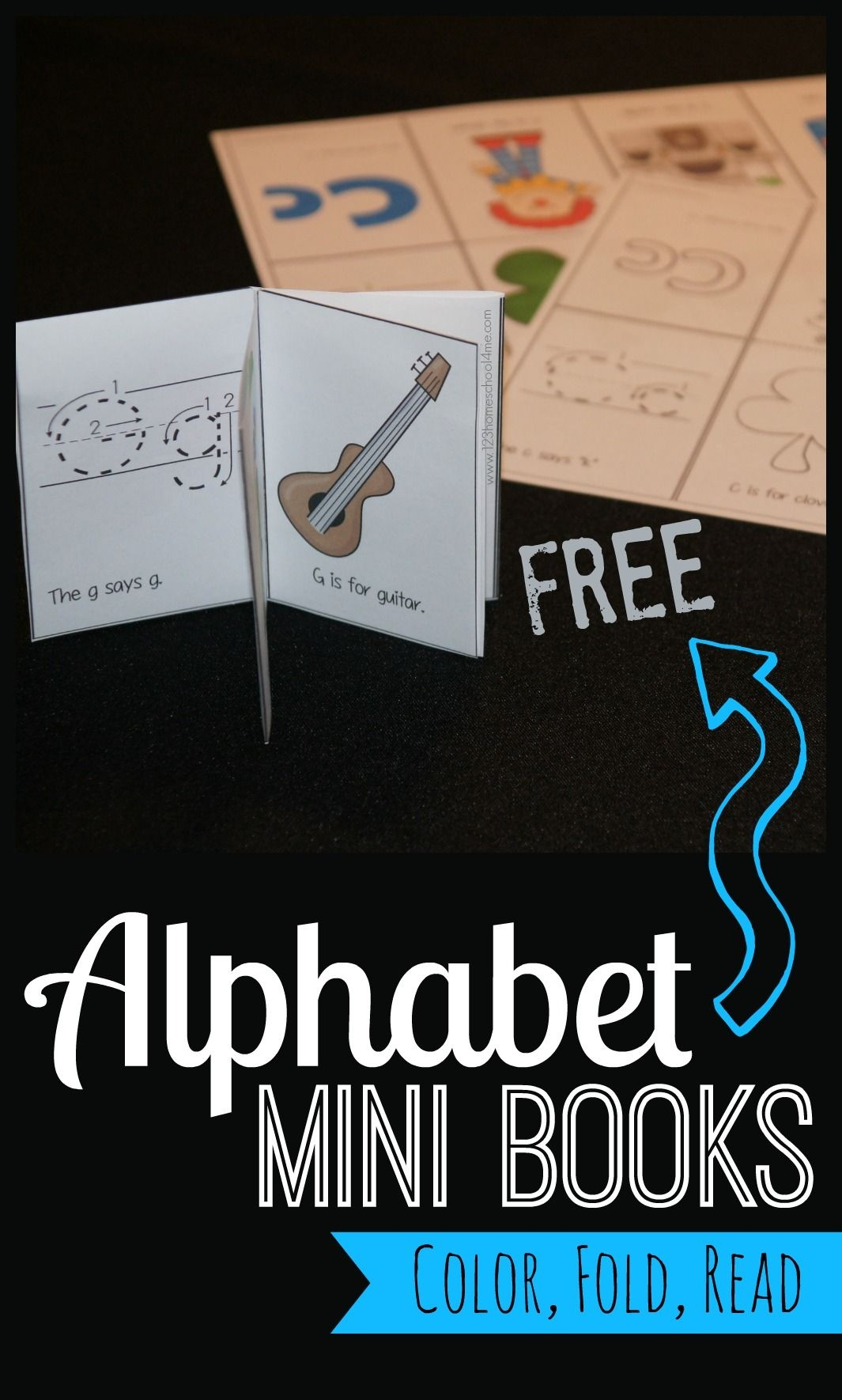 Free Alphabet Mini Books | Play Activities For Kids | Free Preschool - Free Printable Abc Mini Books