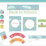 Free Back To School Printable From Urinvited | Catch My Party   Free Printable Back To School